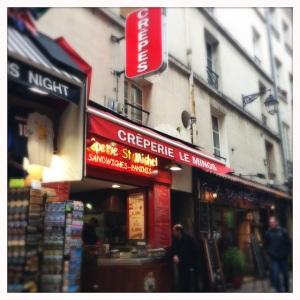 My fav crêpe store